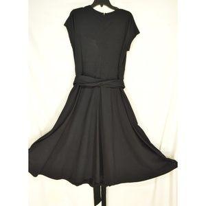 eshakti Dresses - eShakti Custom dress SZ XL black heavy knit low cu
